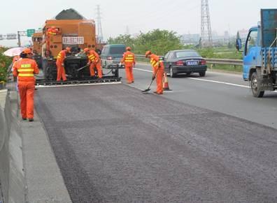 沥青路面微表处施工